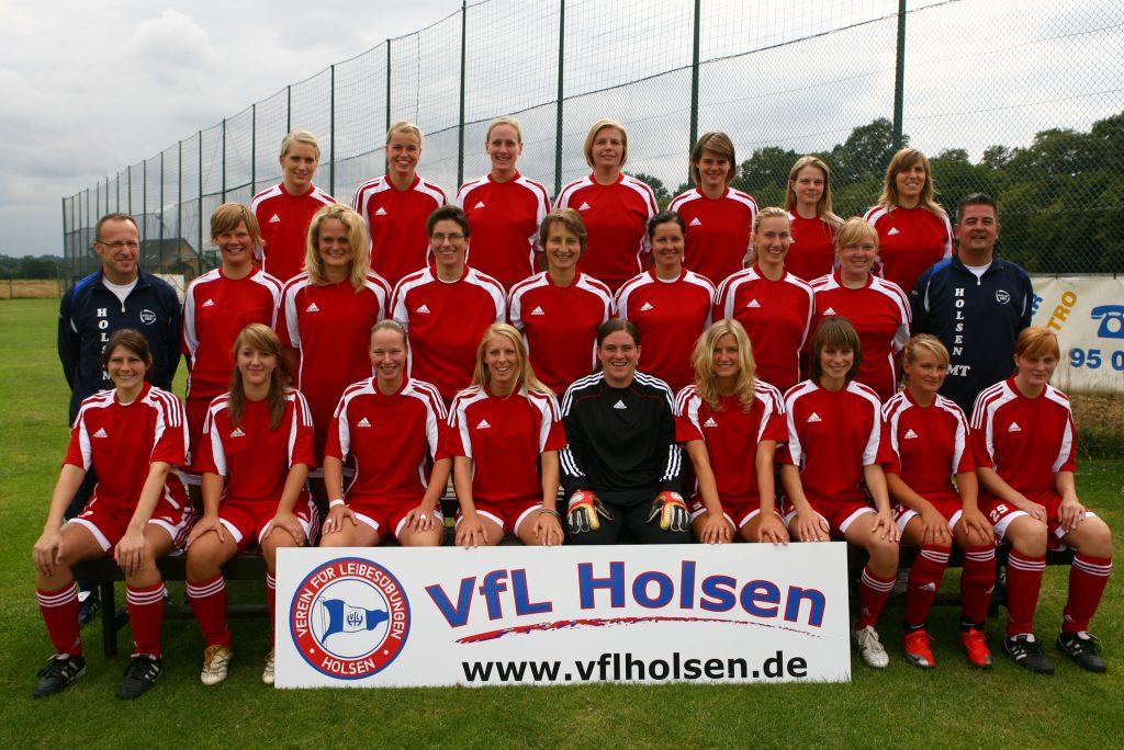 VFL Holsen ,  Frauenfußball Landesliga 2009 / 2010