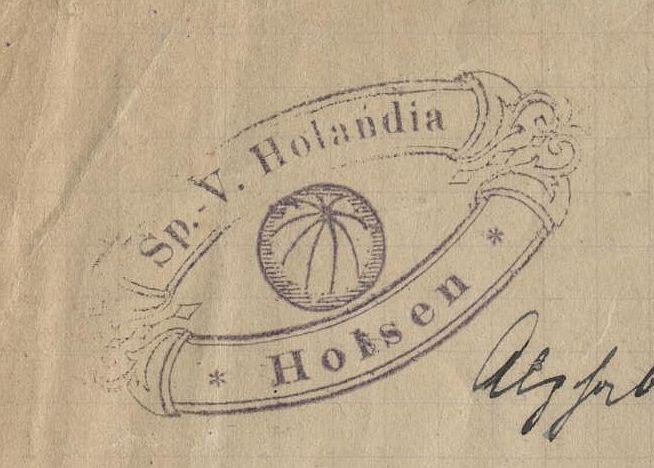 Das erste Logo von Holandia Holsen