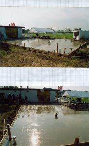 Clubhausumbau 2004