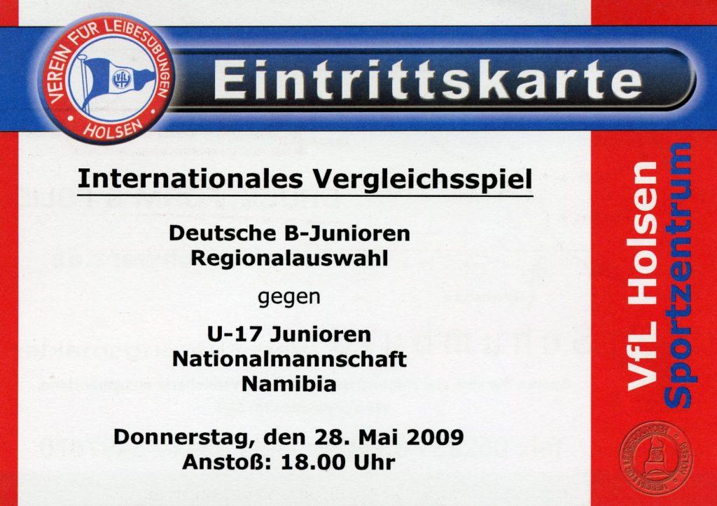 EIntrittskarte Namibia